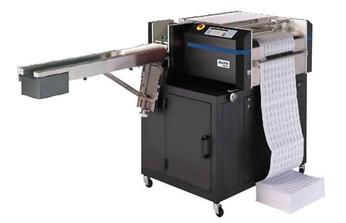 Continuous form laser service